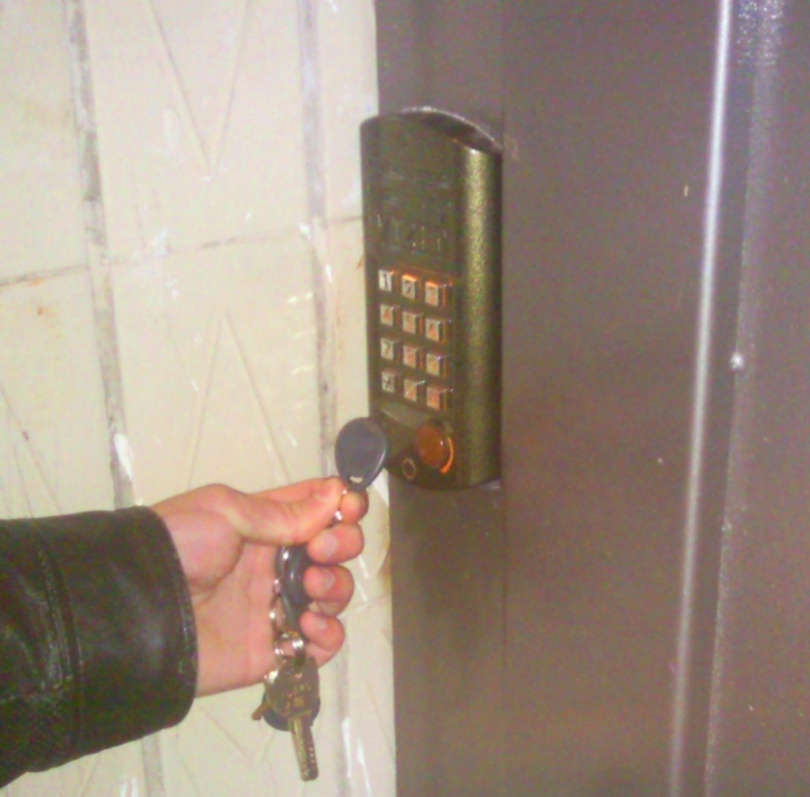 Как сделать ключ от всех домофонов визит 43
